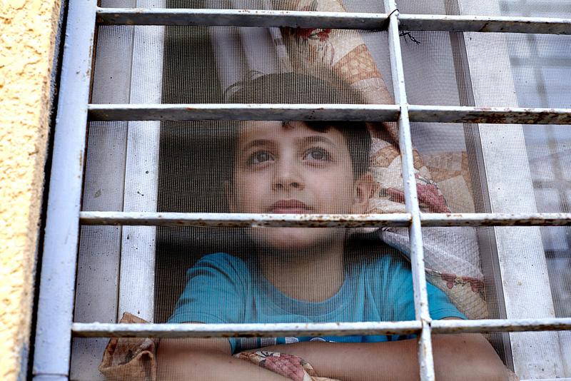 Mahmoud, un enfant syrien réfugié en Egypte