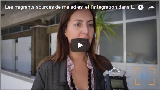 Paola Pace, spécialiste de la santé de la migration